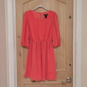 ENFOCUS STUDIO coral dress, Size 4